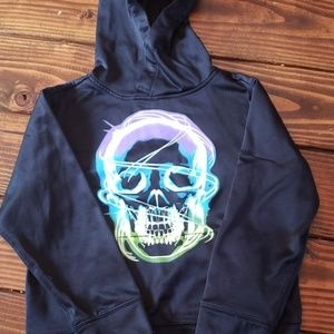 Youth black hoodie size 6 no brand